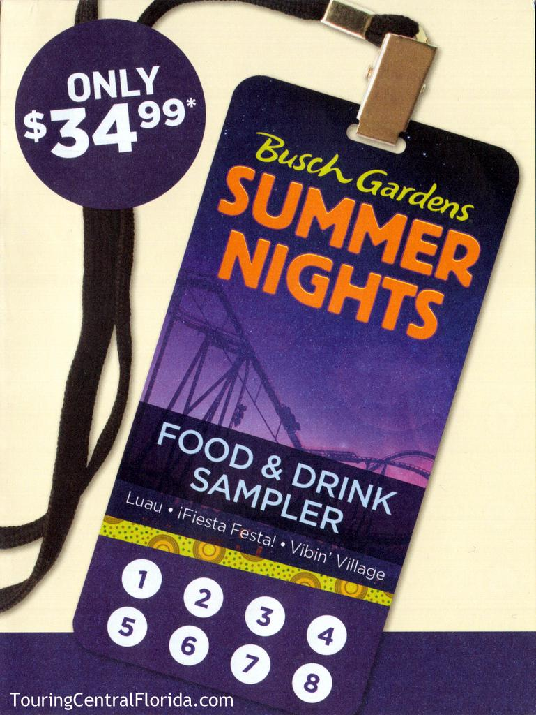 The 8 Sampler Card Is $34.99 + Tax. Pass Member Discounts Apply On The  Sampler Card And Individual Items At Each Booth.