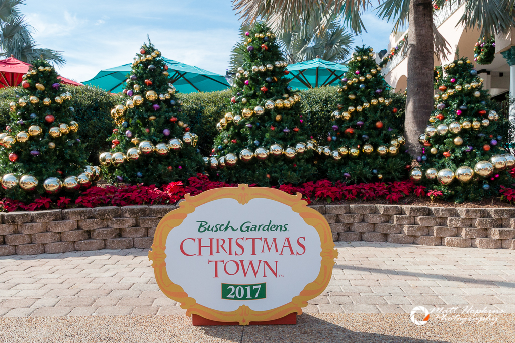 Christmas Town Florida.Walking Around Christmas Town 2017 At Busch Gardens Tampa