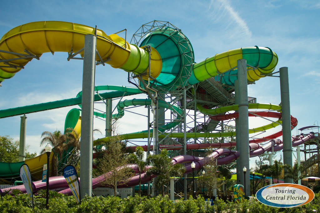 Vanish point opens at adventure island touring central florida for Busch gardens adventure island