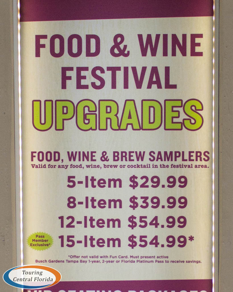 Busch Gardens Tampa Food Wine 2018 Festival Guide 011 - Busch Gardens Food And Wine Festival 2020 Lineup