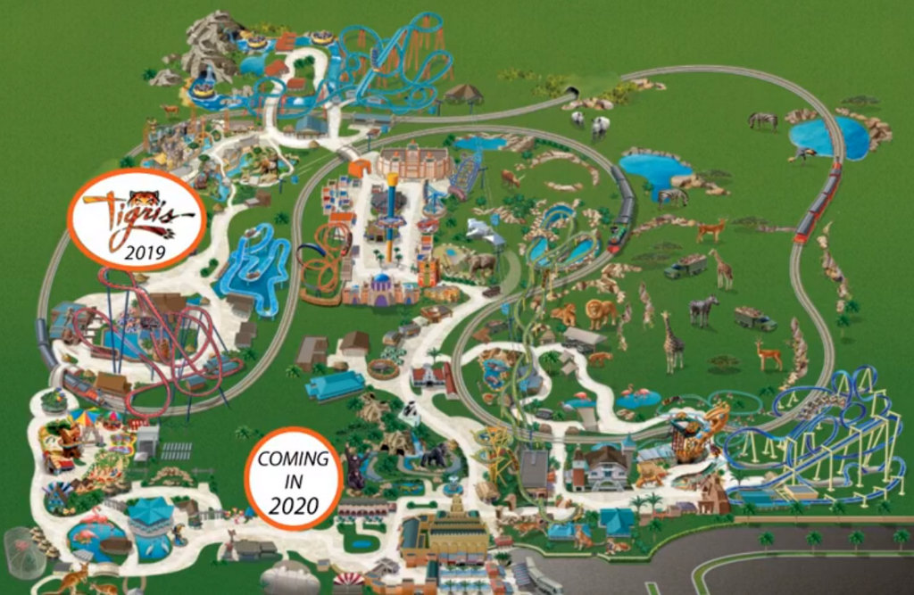 Gwazi Revamp For 2020 At Busch Gardens Tampa Touring Central Florida