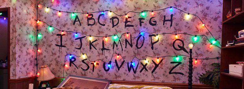 a look inside stranger things at hhn 2018 touring central florida - Stranger Things Christmas Decorations