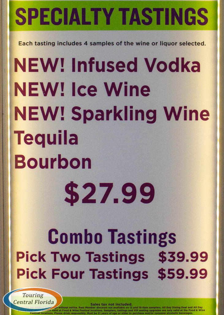 Busch Gardens Tampa Food Wine 2019 Alcohol Tastings 001 - Busch Gardens Shuttle Pick Up Points
