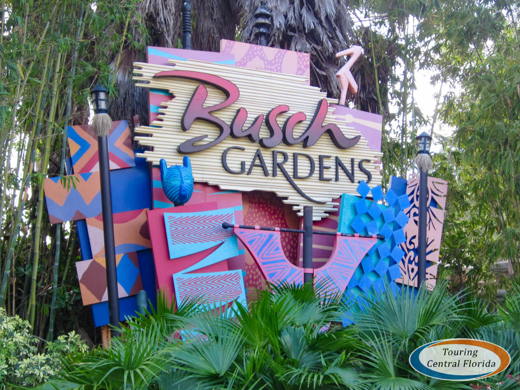 Busch Gardens Tampa Sign 001 - Busch Gardens Bring A Friend For Free 2017 Tampa
