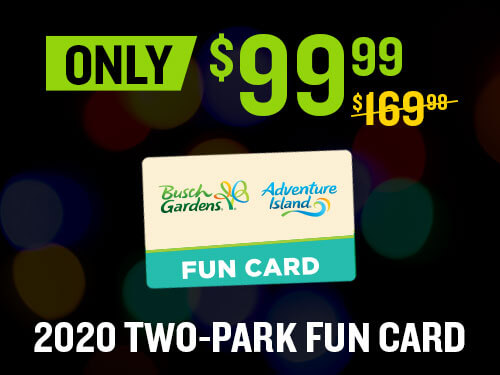 Busch Gardens Tampa 2019 Black Friday Sale Touring Central Florida